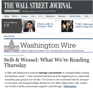 InDecision in WSJ