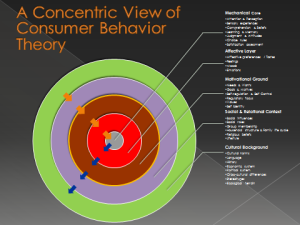concentric view of consumer behaviour