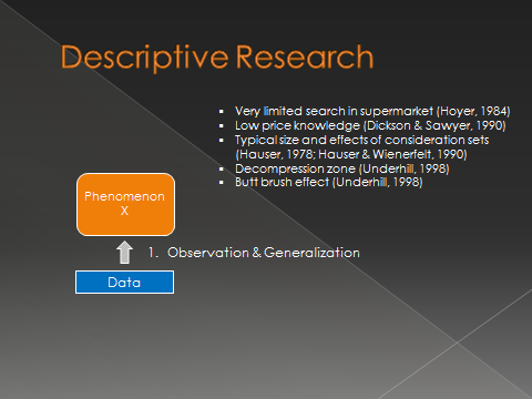 descriptive research methodology