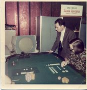 Paul Slovic and Sarah Lichtenstein in Las Vegas, 1969