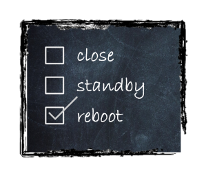 reboot indecision image